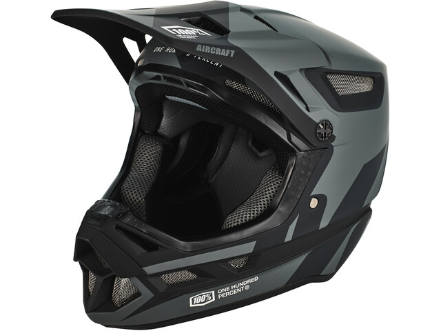 100% Aircraft DH Composite Cykelhjelm, black